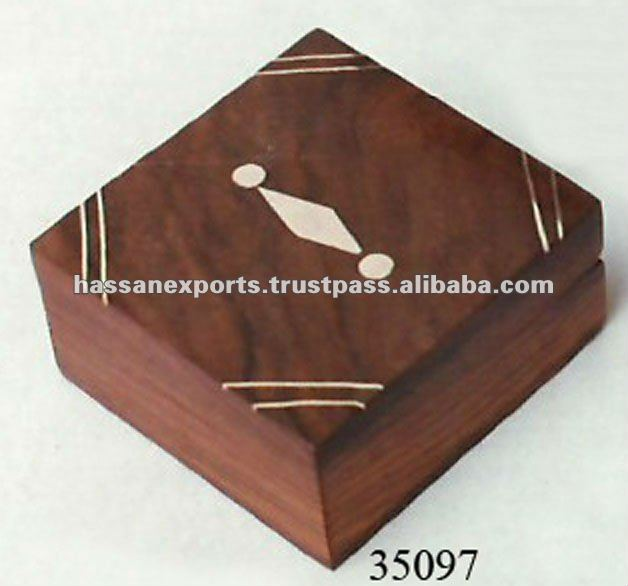 Antique Jewelry Box India Craft Hanmade In Wood
