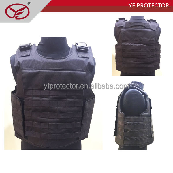 tactical ballistic vest level 4/hot sale plate insert ballistic armor
