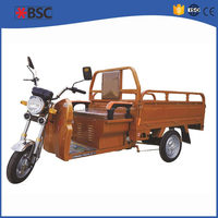 2015 hot sale adult tricycle moped in India