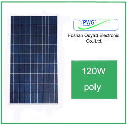 China Supplier Factory Direct Sale 120w Poly Solar Panels in Stock