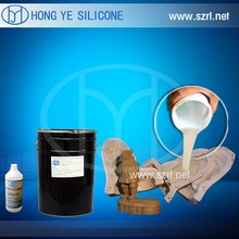 Rtv Liquid Molding Silicone Rubber for Concrete, PU Resin, Gypsum Casting