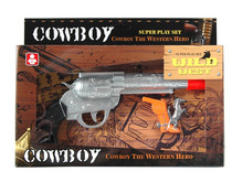 Hot sale Plastic toy cowboy guns with Bo sound and whistle