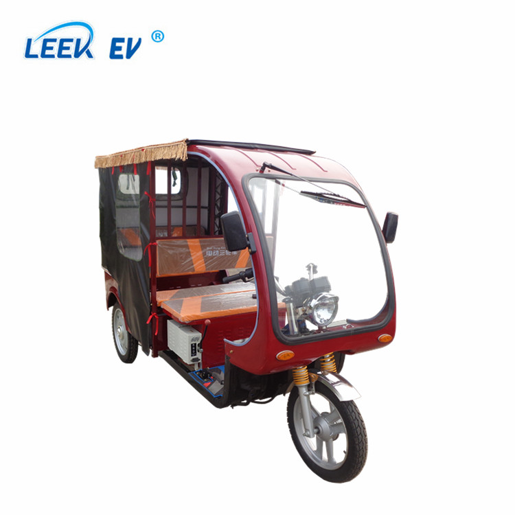 2018 Hot Passenger tricycle / e rickshaw electric tuk tuk for sale