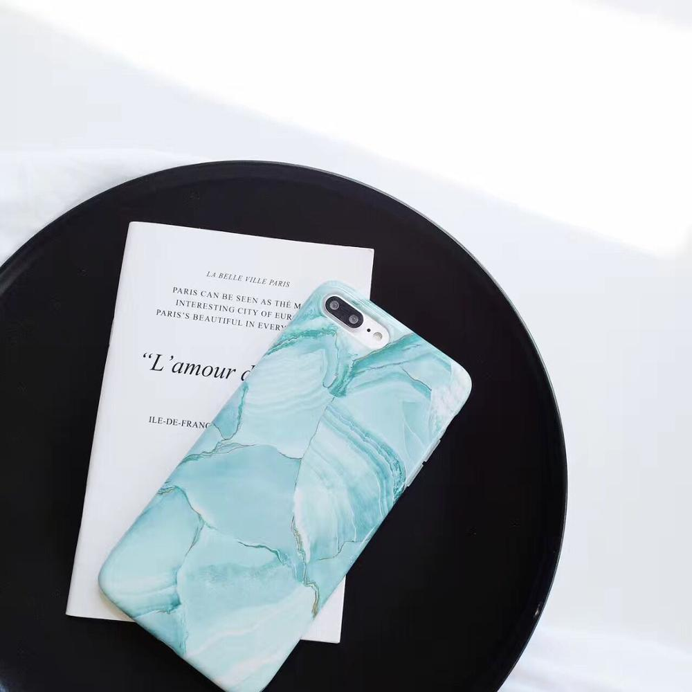 wholesale custom IMD Phone Case Green Oil Painting Pattern Phone cover, soft TPU for iPhone 6/6s case