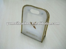 2012 hot sale high quality transparent clear pvc make up bag