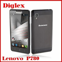 China Smartphone Lenovo P780 Android 4.4 Mobile Phone 5.0 Inch 1GB RAM 4GB ROM 8MP Dual Sim Card 4000mAh Big Battery Cell Phone