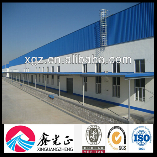 China Rent Prefabricated Building Plan Warehouse