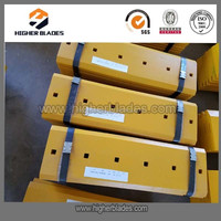 machinery spare parts cutting edge, end bits for loader, excavator, dozer, grader