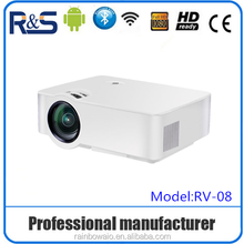 Real 3D DLP Technology LED 4k projector 1000 lumens Full HD 1080P, digital projectors for cinemas