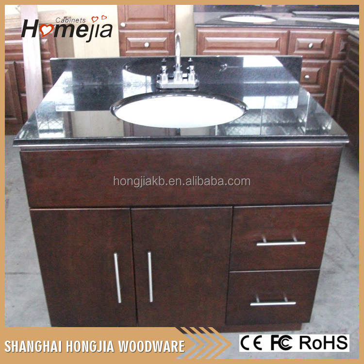 2016 Chinese factory custom solid wood bathroom vanity cabinet from alibaba china market bathroom cabinets
