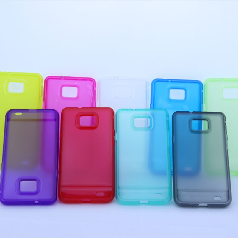 Promotion wholesale TPU case for Samsung galaxy S2 i9100