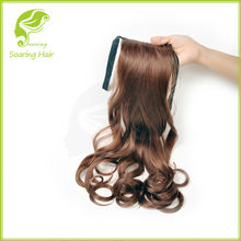 Clip In Pony Tail Hair Extension Wrap Around Ponytail Hair Extension