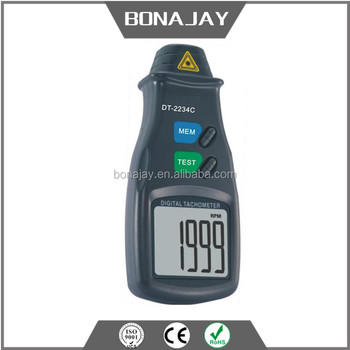 portable digital tachometer dt-2234c