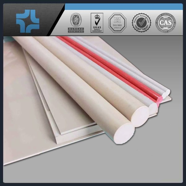 Heat-resistance natural virgin materials plastic PEEK rod bar