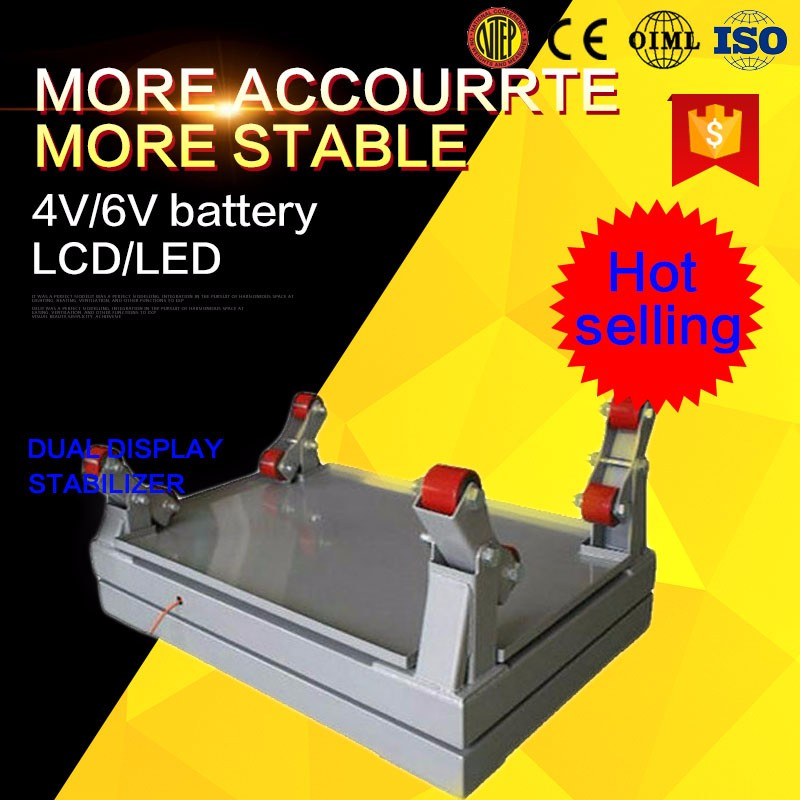 stainless steel gas cylinder weighing scale