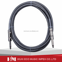 Braided Patch Electric Guitars Cable Cord