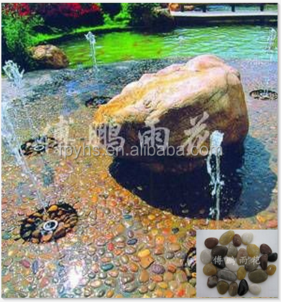 polished pebble stones for pool