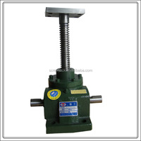 NOSEN adjustable 20T screw jack with flange for lifting and lowering