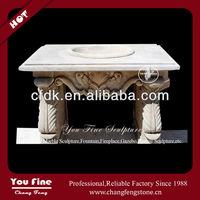 Marble carving quality antique stone wash basin