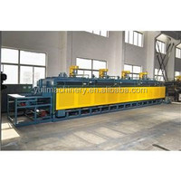 mesh belt Continuous bringht annealing electric resistance furnace