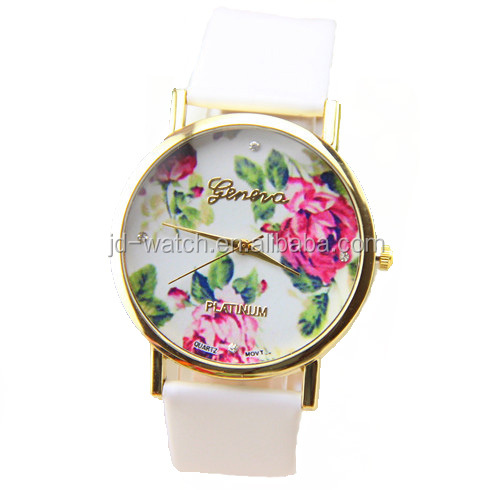 hot seller promotion silicone jelly wristwatch
