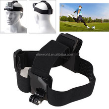 Accessories For Go pro Three Anti-skid Rubber Pads Head Strap for GoPros He ro 4/3+/3/2/1