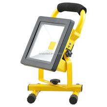 Ultra Slim Outdoor Battery Portable 10W 20W 30W 50W Rechargeable COB Outdoor LED Flood light