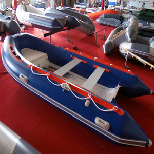 DeporteStar CE RIB 390cm 6Person BLUE rib boats for Family