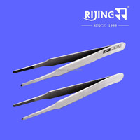 Sewing machine parts accessories TS-13 / high precision stainless steel tweezers