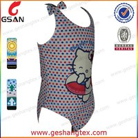 Cartoon printed sexy girls swimming suits