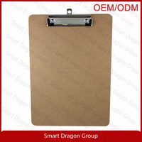 MDF A4 clipboard , wooden clipboard