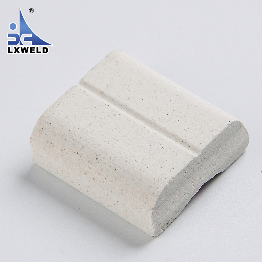 Customized High Heat Resistance Ceramic Weld Backing Material