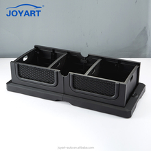Durable Hard Plastic Container Car Black Foldable Storage Box