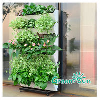 Decorative flowers vertical garden artificial wall plant