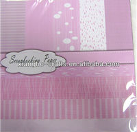 baby girl pink color craft paper for cardmaking
