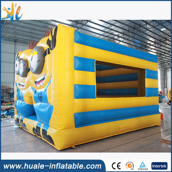 Guangzhou HuaLe plato pvc tarpaulin inflatable bouncer house for water park