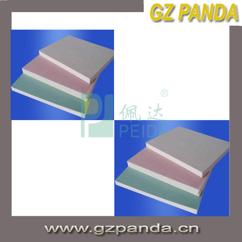 China Best Prices Gypsum Board Standard Size