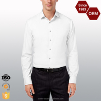 Custom Design Non-iron Trendy Men's Dress Shirts
