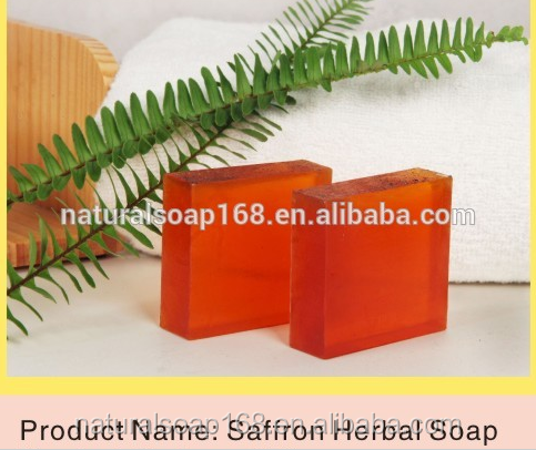 natural handmade saffron soap 100g