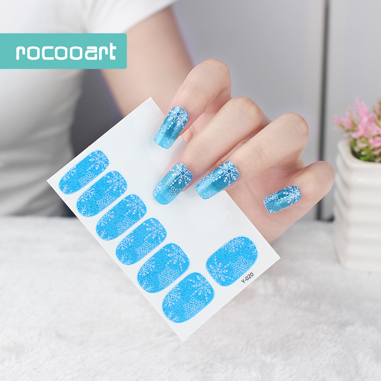 Wholesale flower nail design online buy best flower nail design y5020fashional beauty manicure products full wraps sticker for strong nails freerunsca