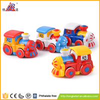 Economic cheap price friction train diecast toy car