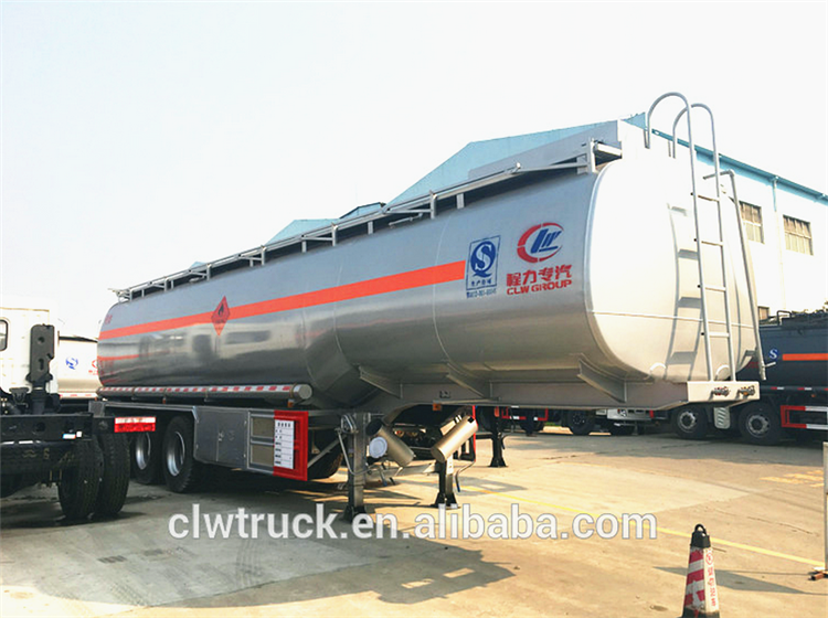 High quality 30-60CBM gasoline oil tanker semi-trailer for sale in Namibia
