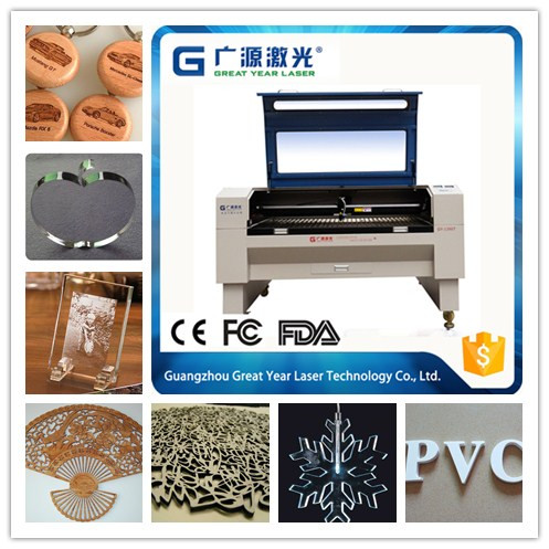Shandong supplier cheaper price CO2 poly urethane laser cutting machine