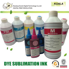 sublimation transfer ink, color shifting ink