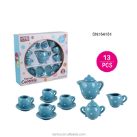 New Product children ceramic tea set toy kids toy wholesale