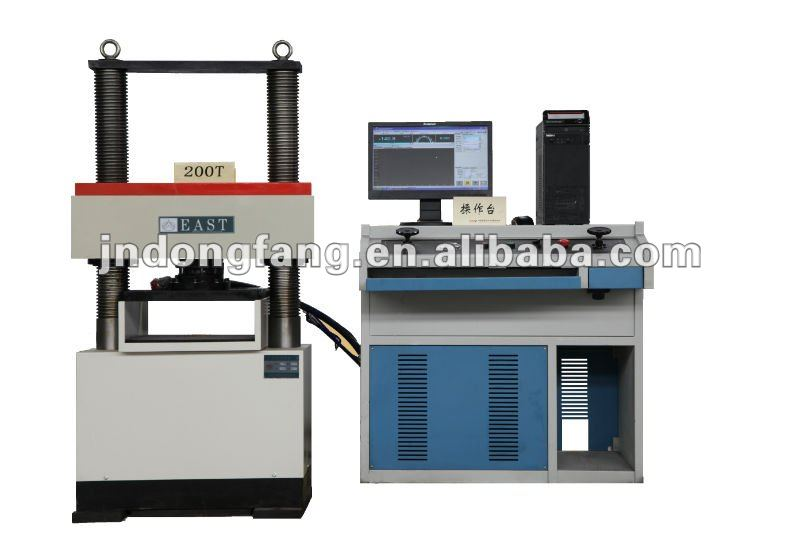 YAW computer compression testing machine