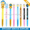 Hot Selling Cartoon Duck Stylus Lovely Plastic Ball Pen