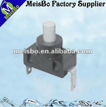 CE on-off flashlight push button switch 2 pin ip65
