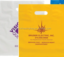 Co Extruded Polythene Bag Custom Made Logo Printed Plastic Shopping Bag