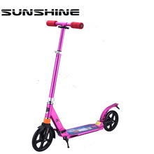 China factory cheap price kick adult personal snow scooter
